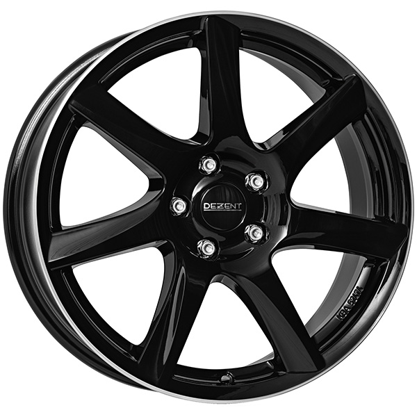 DEZENT DEZENT TW dark 7x17 5x115 ET 44 Black/polished lip TW dark 7x17 5x115 ET 44 Black/polished lip