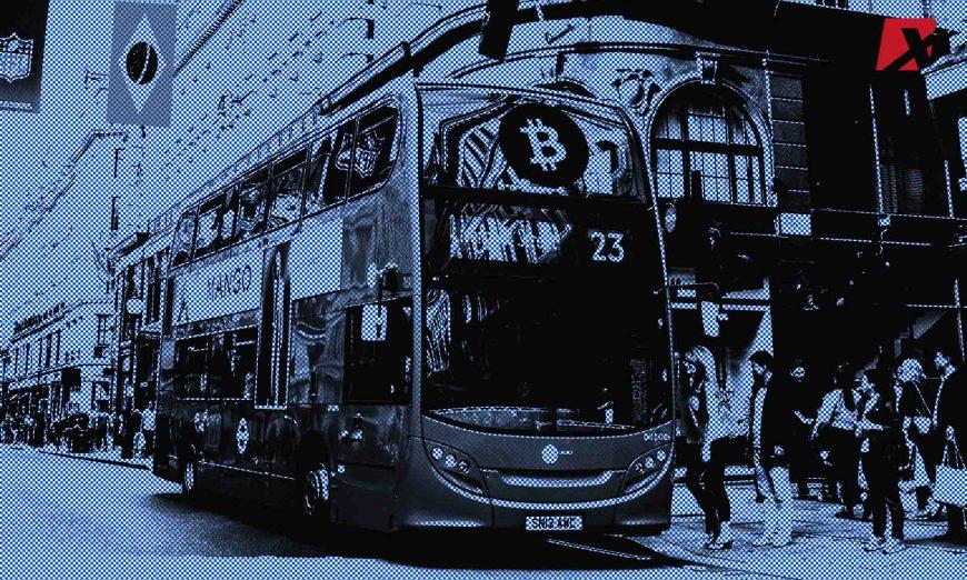 Bus Accepting Cryptos