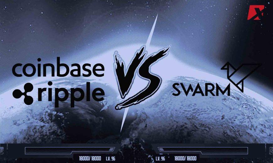 Coinbase Ripple vs Swarm