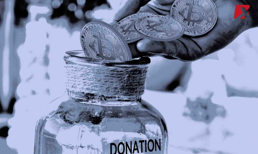 cryptocurrency donations