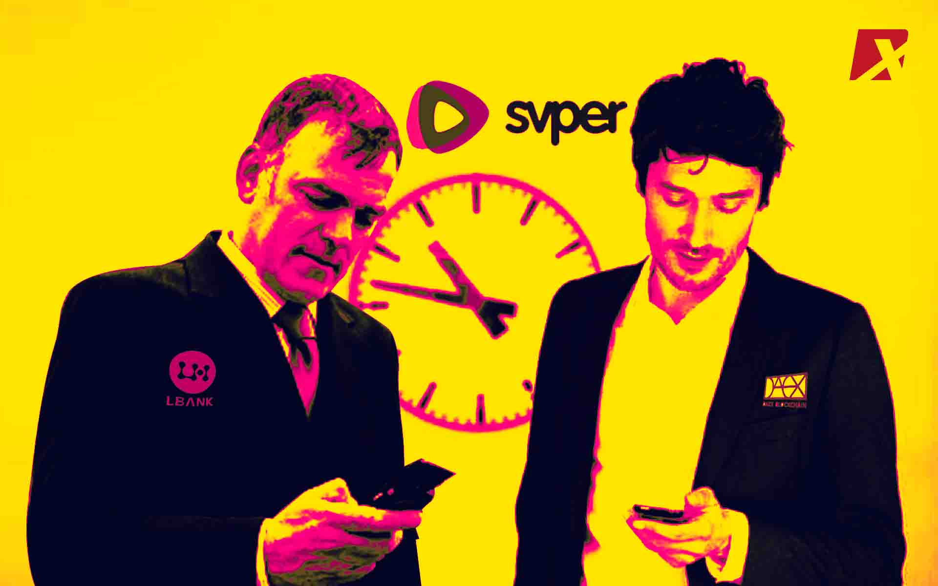 DAEX And LBank Invest In Social Instant Video App SVPER
