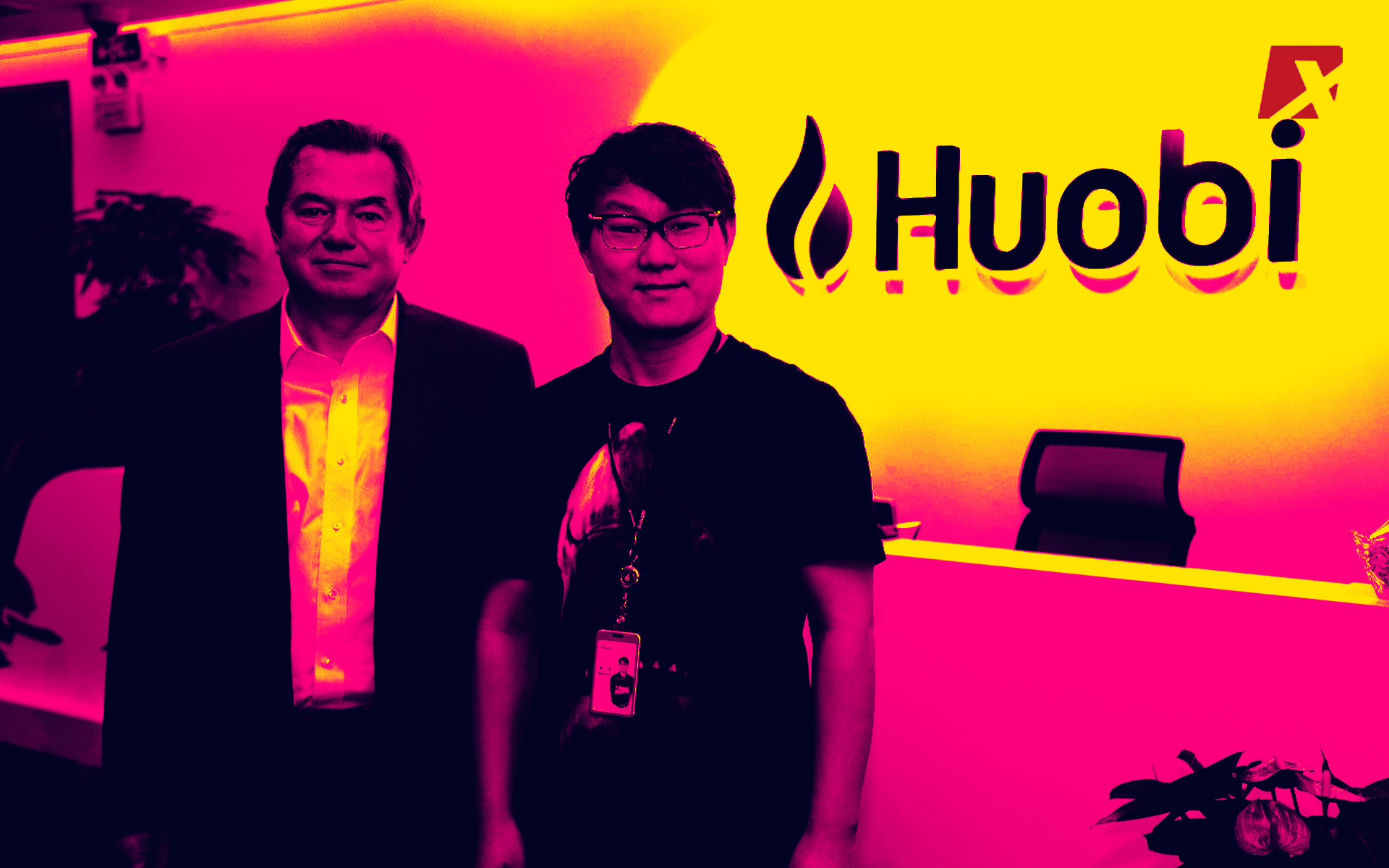 Huobi CEO And Putin's Advisor Chat About Blockchain