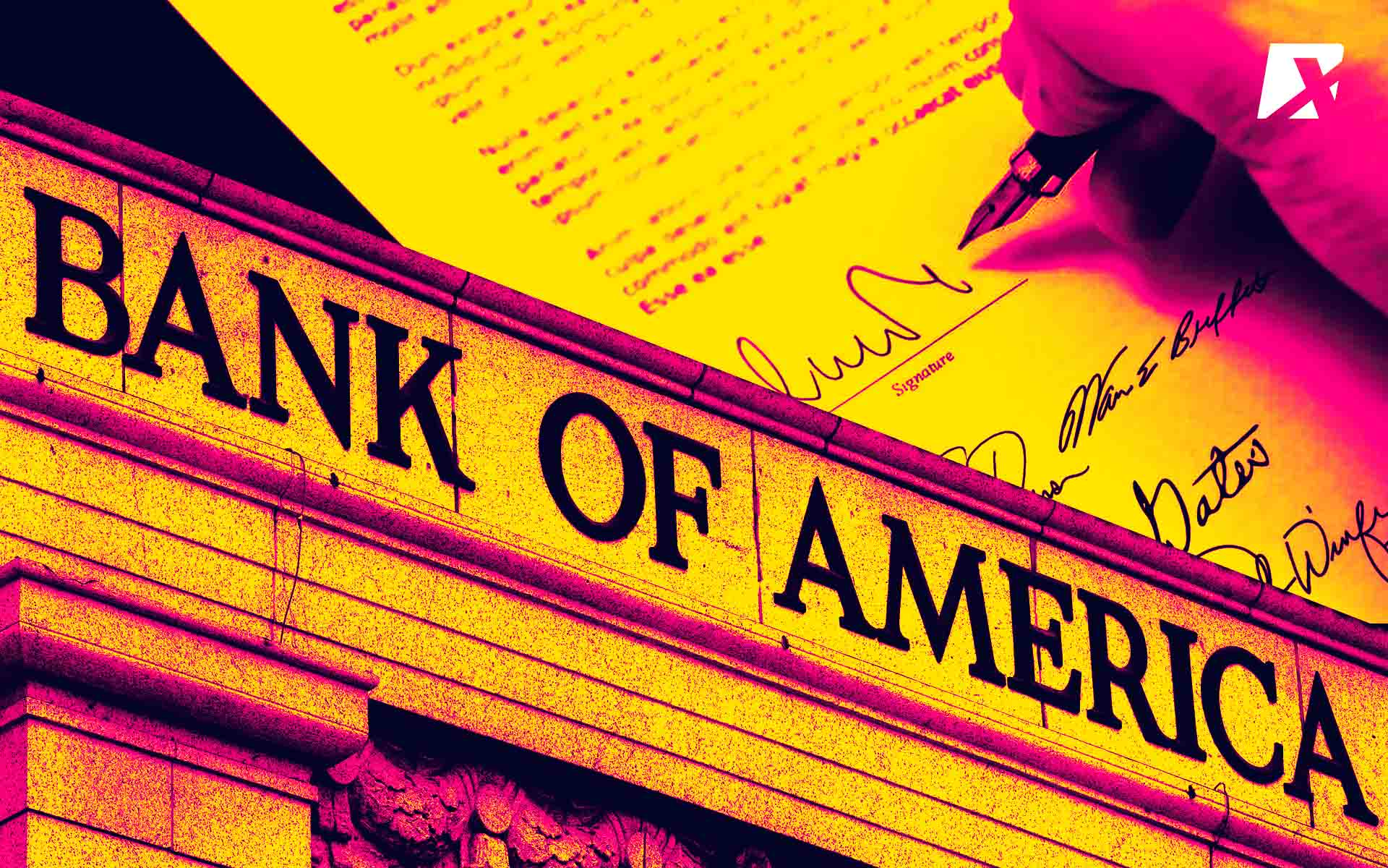 Bank Of America Files Patent On Multi Signatures In Distributed System
