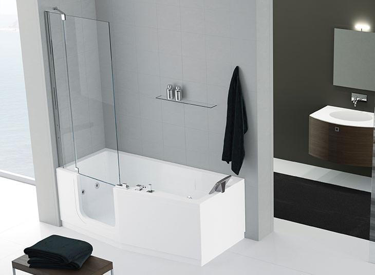 Een Veilige Badkamer : Instapbad: een veilige badkamer in 1 dag practicomfort
