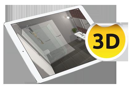 Ipad Silver Sho 3D