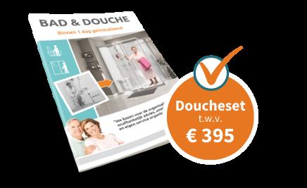 Doucheset Actie Brochure