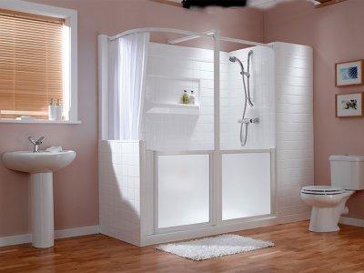 Inloopdouche: veilig douchen in 1 dag actiepagina | PractiComfort