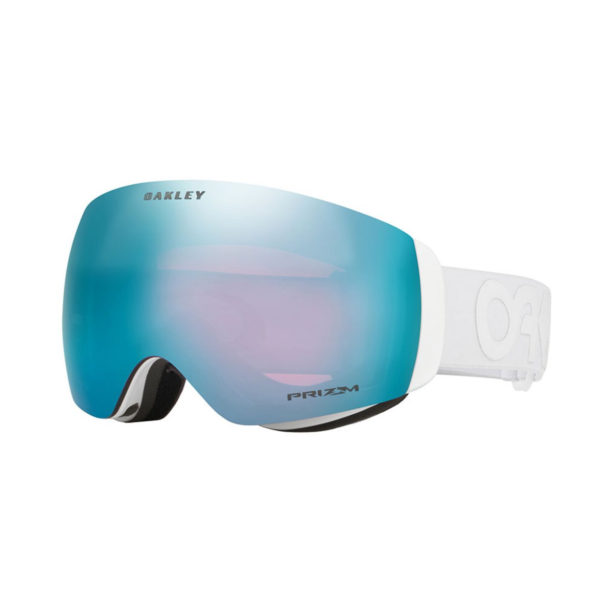 Oakley Flight Deck XM Factory Pilot Whiteout / Prizm Sapphire Iridium Goggles 2019 / 2020 0