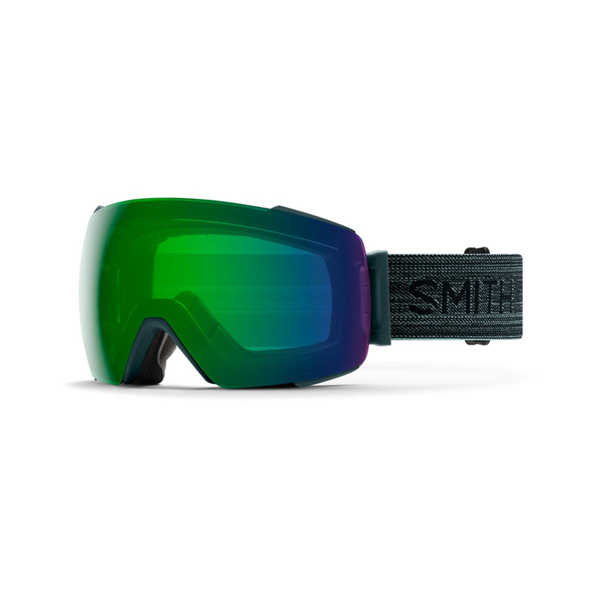 Smith I/O MAG Deep Forest / ChromaPop Everyday Green Mirror + ChromaPop Storm Rose Flash Goggles 2019 / 2020 0
