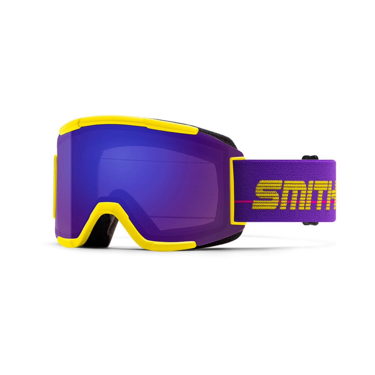 Smith Squad Yellow 93 / ChromaPop Everyday Violet Mirror + Yellow Goggles 2019 / 2020 0