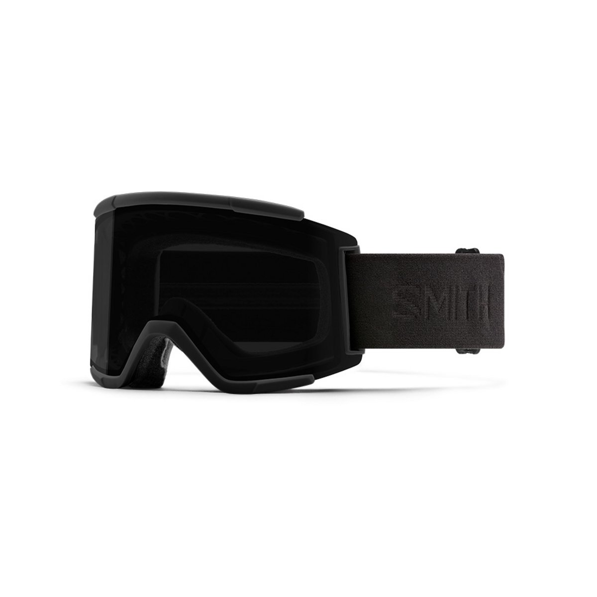 Smith Squad XL Blackout / ChromaPop Sun Black + ChromaPop Storm Rose Flash Goggles 2019 / 2020 0