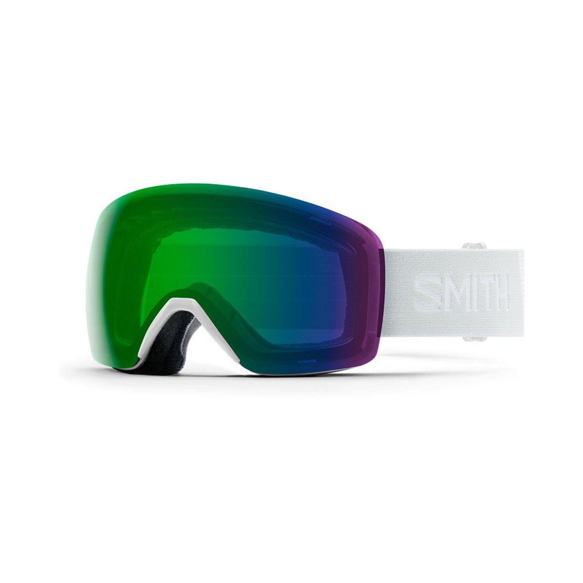 Smith Women's Skyline White Vapor / ChromaPop Everyday Green Mirror Goggles 2019 / 2020 0