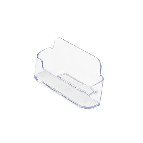 Literature Holders Business Card Holder Desktop Single Pocket Clear