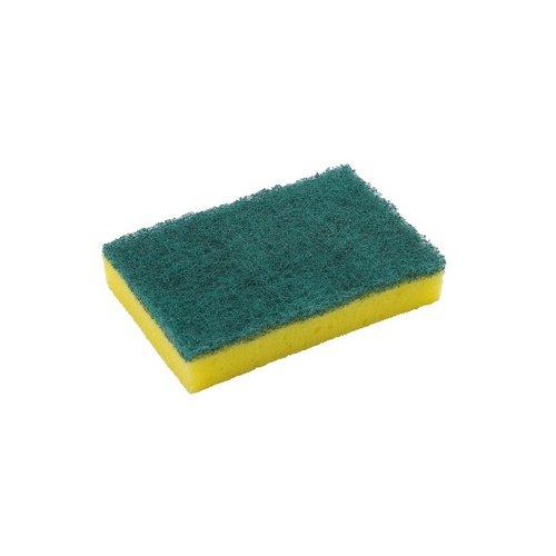 Cloths / Dusters / Scourers / Sponges Washing Up Pad Sponge Scourer Pack 10