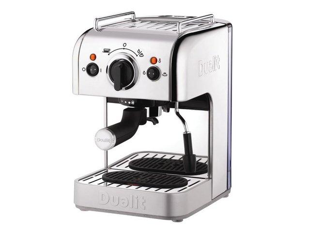 Coffee Machines & Accessories Dualit 3 In 1 Coffee Machine Stainless Steel Ref DA8440
