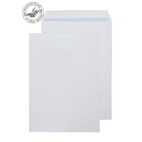 C4 Purely Environmental Pocket Self Seal White 100gsm C4 324x229mm Ref RD7891 Pk 250 *10 Day Leadtime*