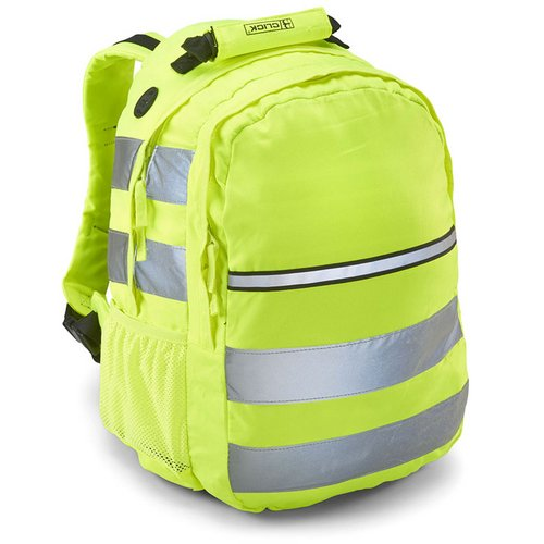 Backpacks B-Seen Hi-Vis Rucksack 25 ltr Yellow Ref CHVRSY *Up to 3 Day Leadtime*