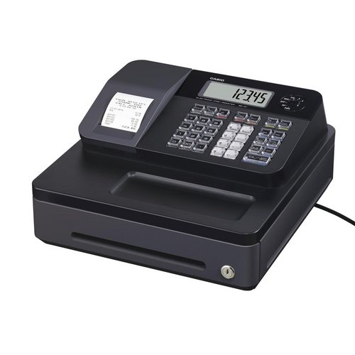 Cash registers Casio Cash Register 7 Segment x 8 Digit 12 Plus 24 Dept Ref SE-G1SD