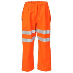 BSeen Gore-Tex Over Trousers Foul Weather 2XL Orange Ref GTHV160ORXXL *Up to 3 Day Leadtime*