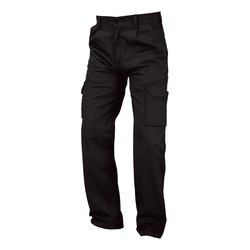 Combat / Cargo Combat Trousers Polycotton with Pockets 38in Regular Black Ref PCTHWBL38 *1-3 Days Lead Time*