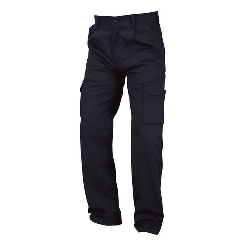 Combat / Cargo Combat Trousers Polycotton with Pockets 38in Long Navy Blue Ref PCTHWN38T *1-3 Days Lead Time*
