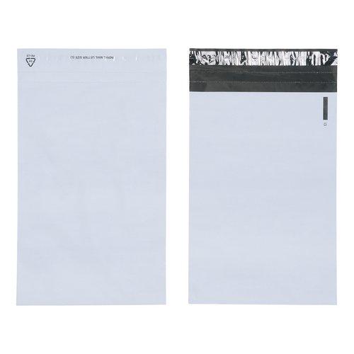 Keepsafe LightWeight Envelope Polythene Opaque C5 W162xH230mm Peel & Seal Ref KSV-L1 Pack 100