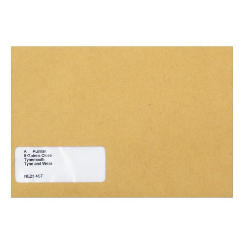 Other Sizes Sage Compatible Wage Envelope Self Seal Window 220x140mm Manilla Ref SE47 Pack 1000