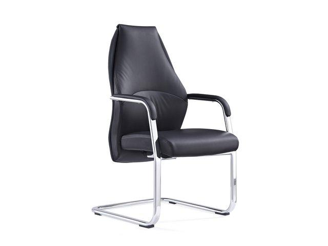 Adroit Mien Cantilever Chair Black Ref BR000211
