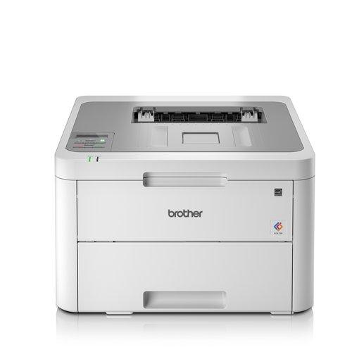 Laser Printers Brother HL-L3210CW Laser Printer Wireless Colour LED Ref HL-L3210CW