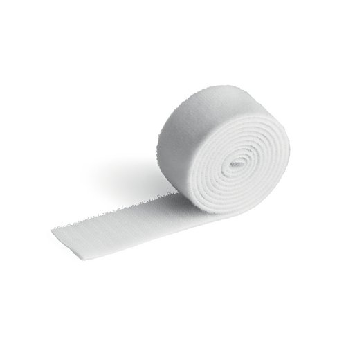 Cable accessories Durable CAVOLINE GRIP 30 Self Gripping Cable Management Tape White Ref 503302