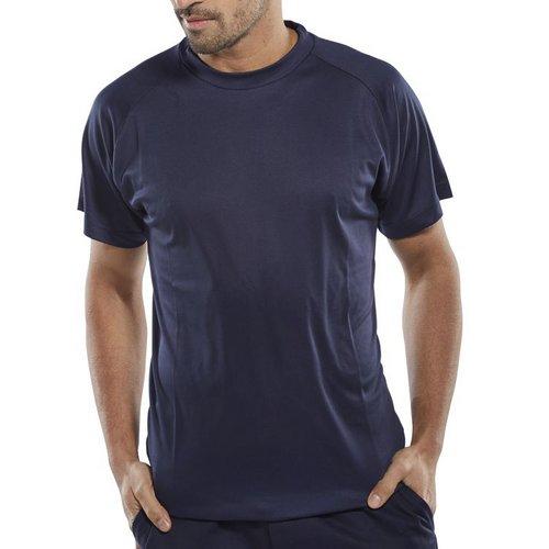 Limitless B-Cool T-Shirt Lightweight 4XL Navy Blue Ref BCTSN4XL *Up to 3 Day Leadtime*