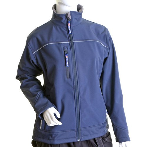 Soft Shell Click Workwear Ladies Soft Shell Water Resistant Jacket XL Navy Ref LSSJNXL *Up to 3 Day Leadtime*