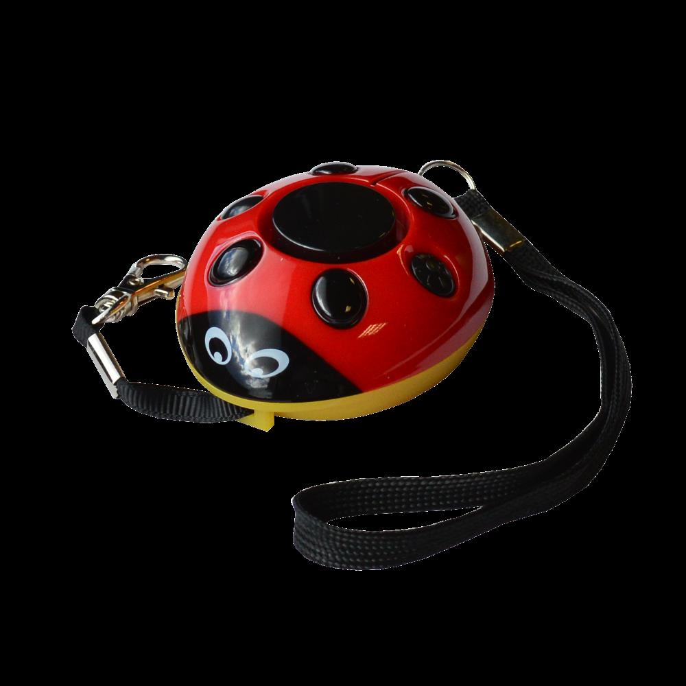 MINDER Screaming Ladybug Personal Alarm