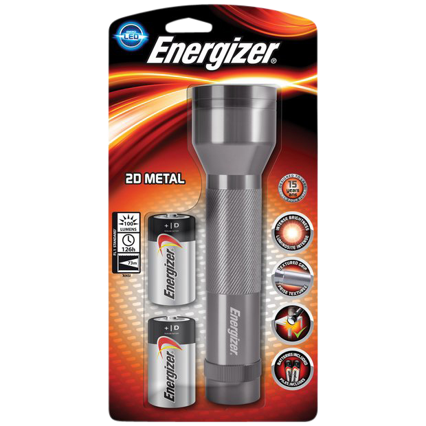 Picture of ENERGIZER LED Value Metal 2D Torch