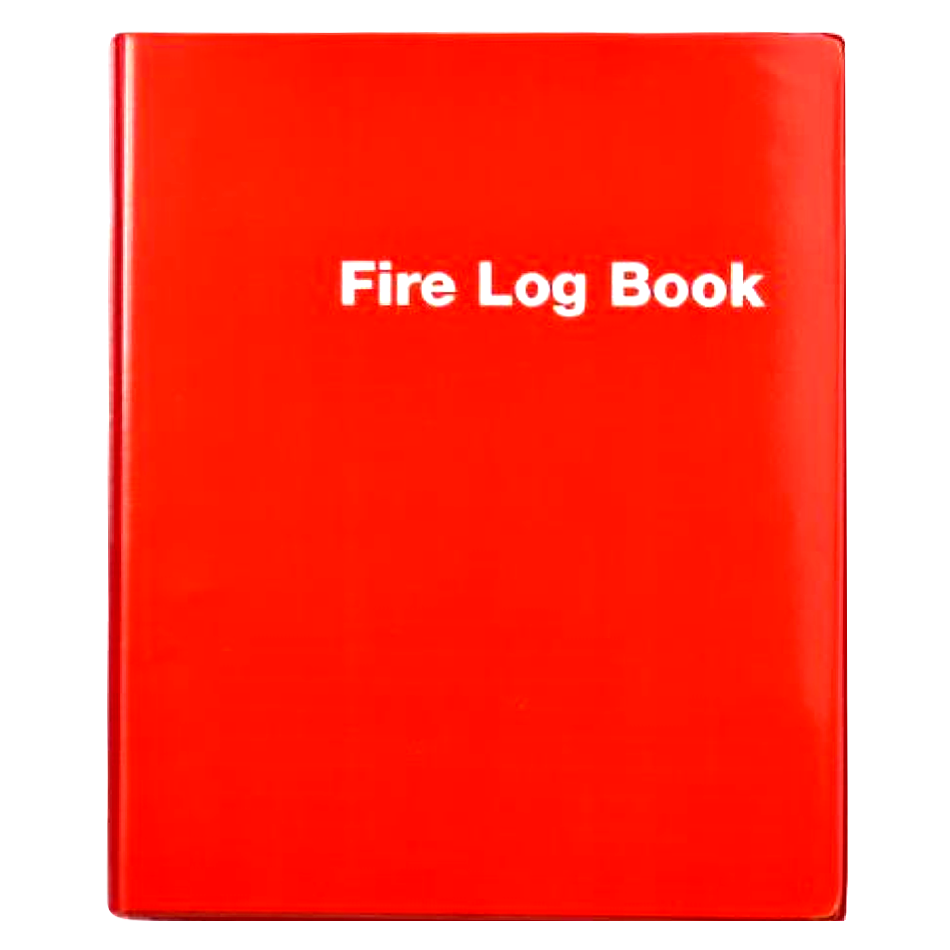 THOMAS GLOVER Premium Fire Log Book Binder