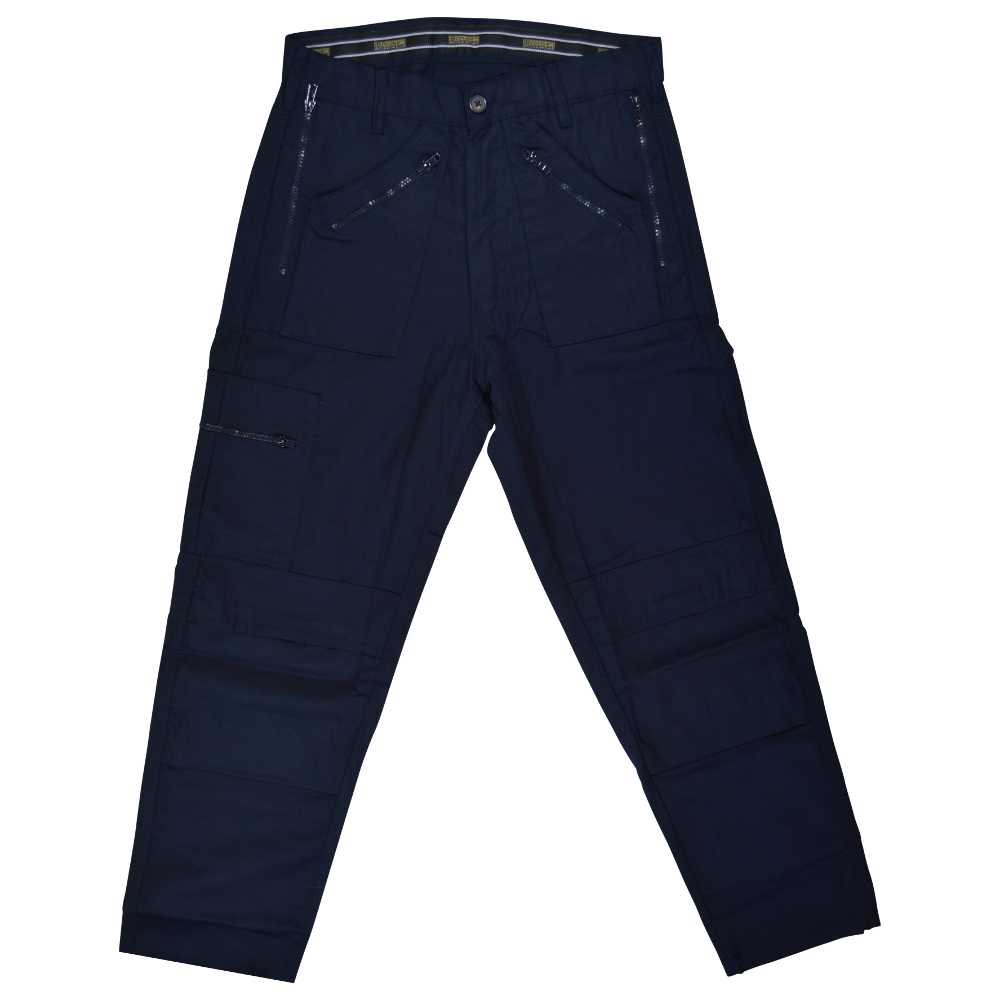 Picture of WARRIOR Action Work Trousers Navy