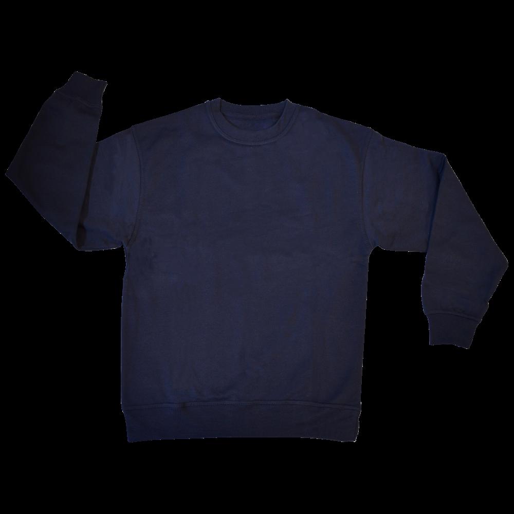 Picture of WARRIOR Polycotton Sweatshirt Navy