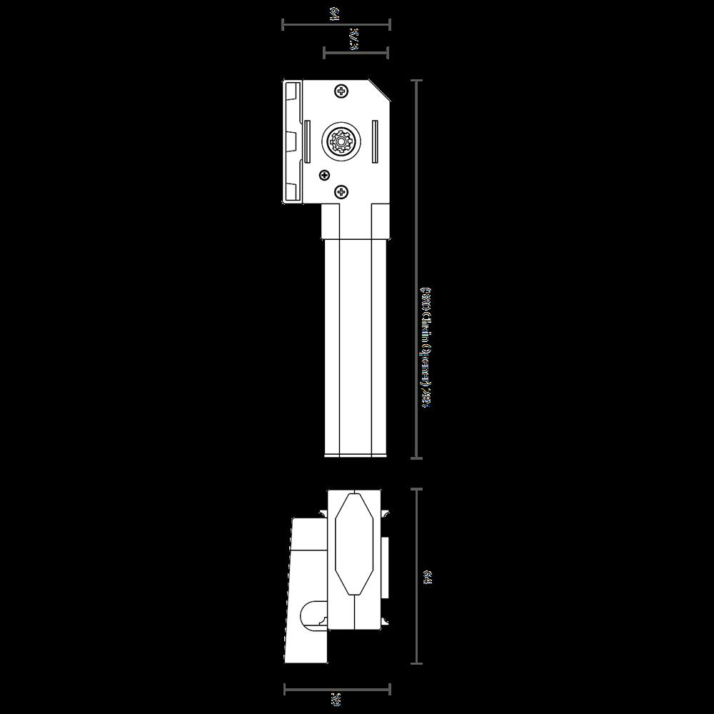 GEZE OL Line 380 Manual Chain Window Opener