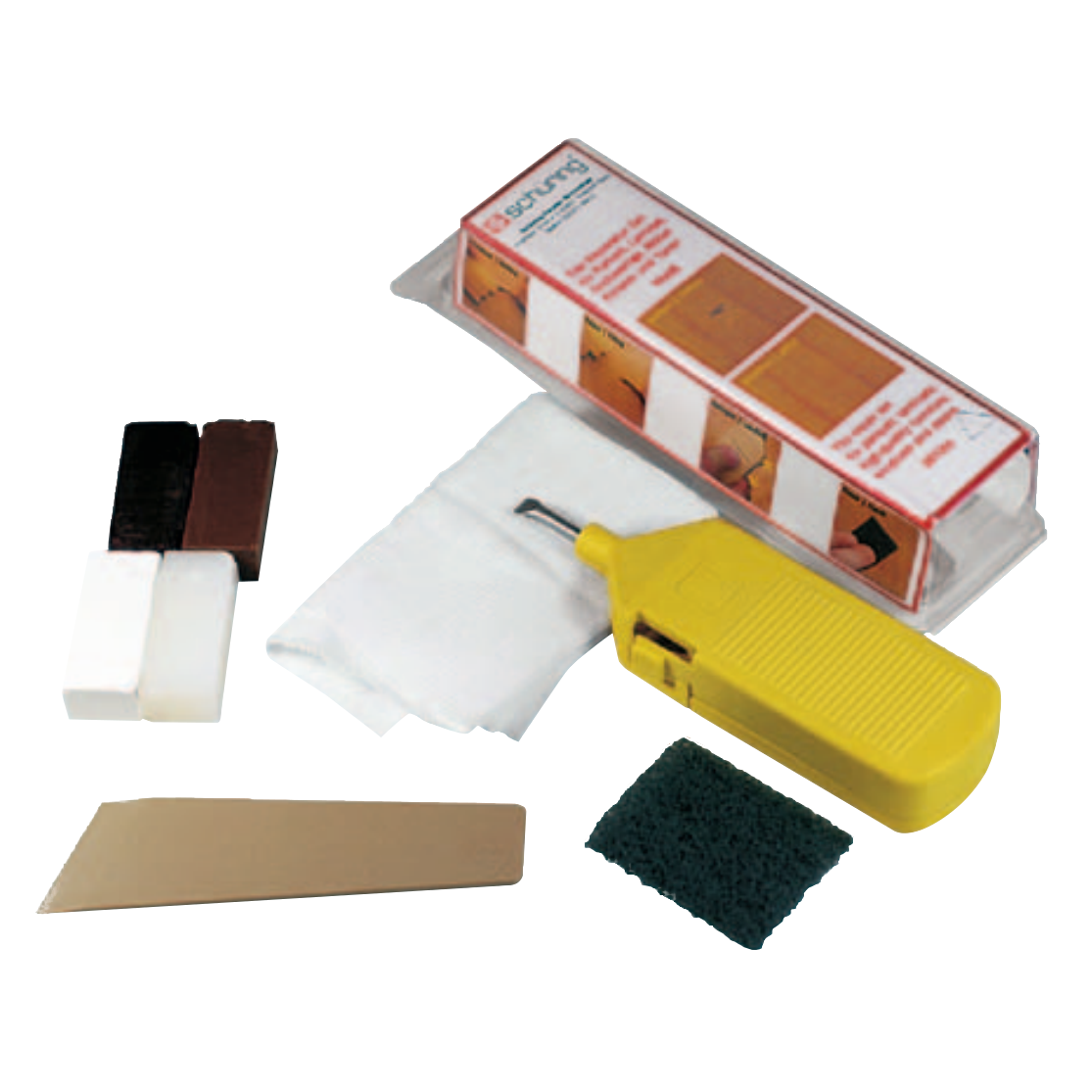 Picture of SCHUERING UPVC Repair Kit White & Brown