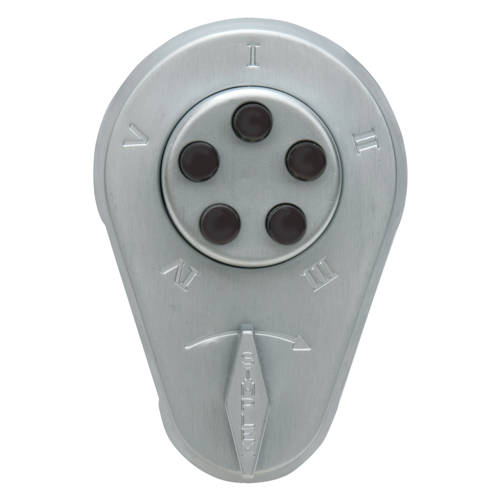 Picture of DORMAKABA 900 Series 938 Digital Lock With Key Override