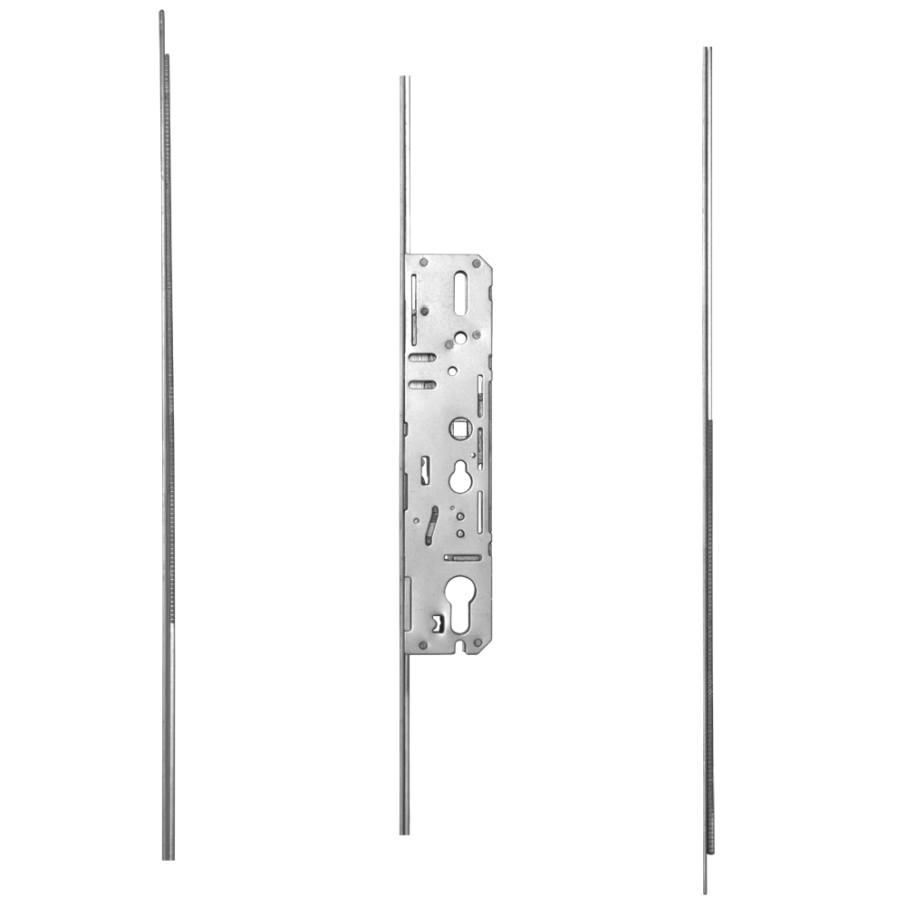 GU 3000 ProLock Short & Slave Lever Operated Latch & Deadbolt - 2 Hook 4 Roller
