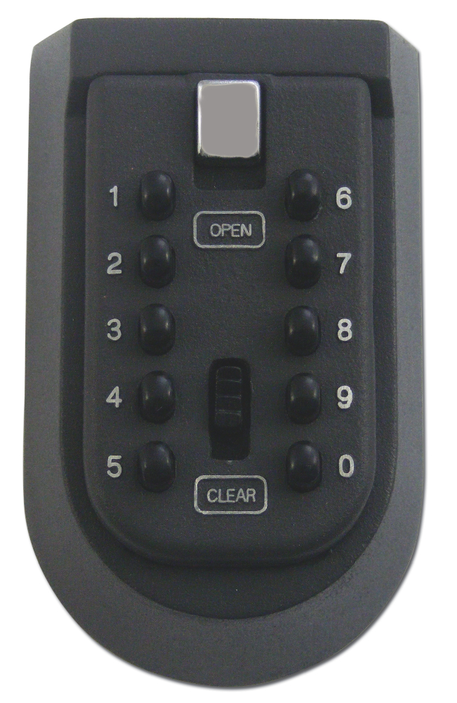 ASEC 6 Key Key Safe Complete With Cover