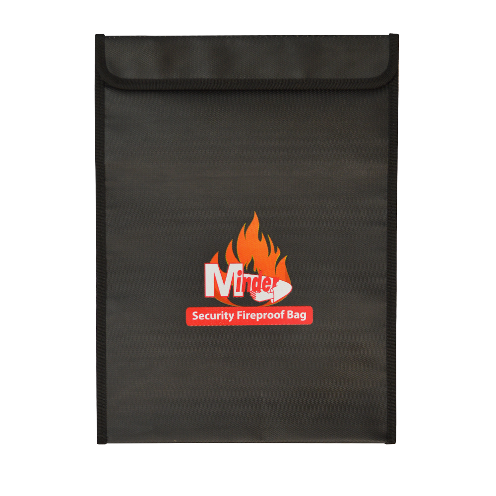 MINDER Fireproof Document Bags