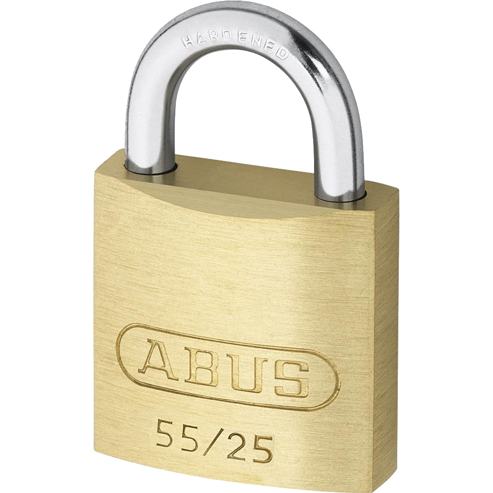 ABUS 55 Series Brass Open Shackle Padlock