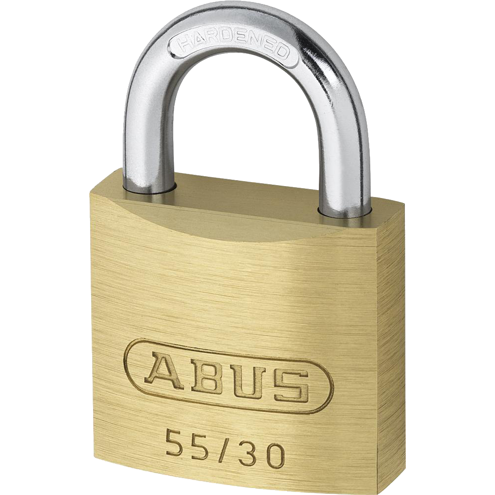ABUS 55 Series Brass Open Shackle Padlock