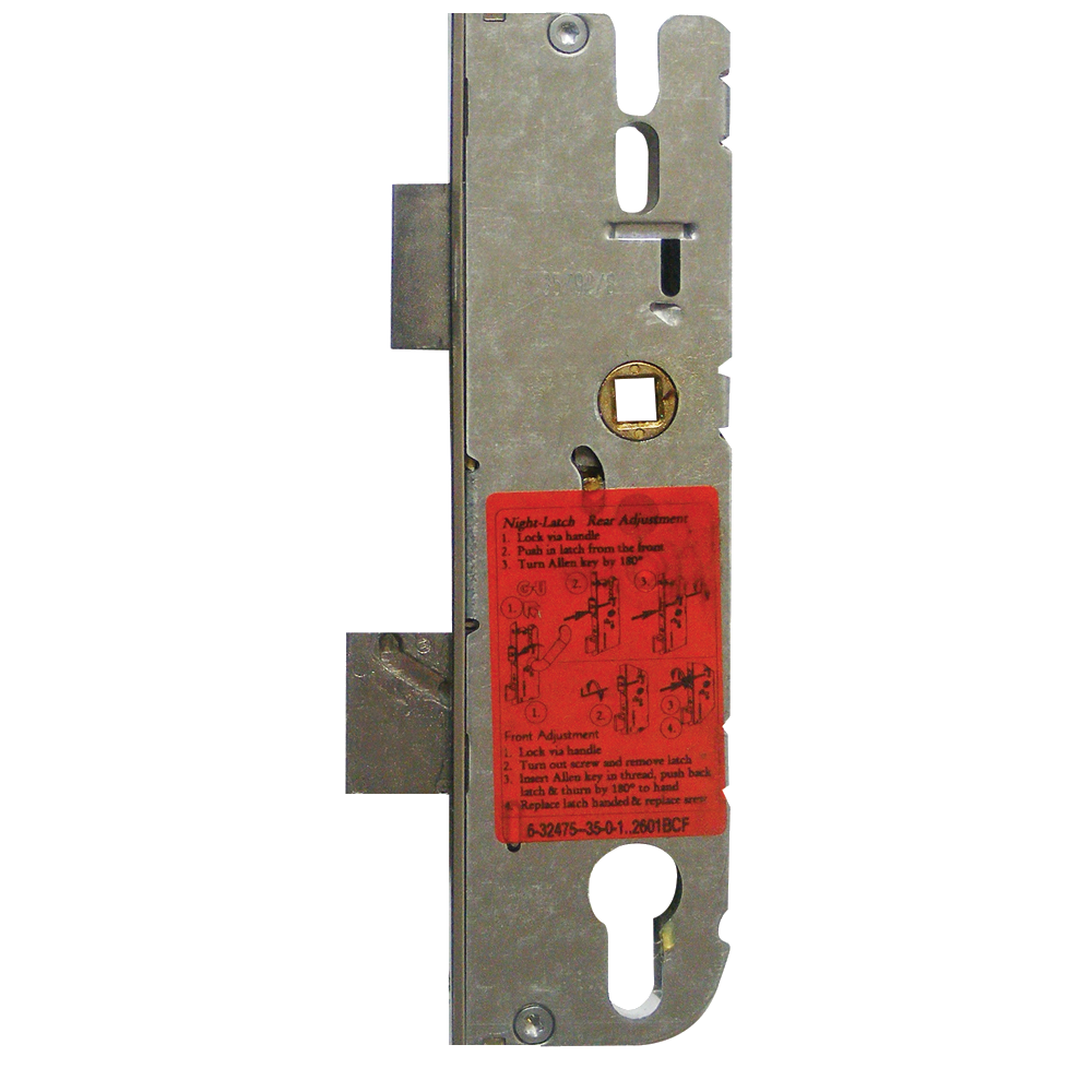 GU Lever Operated Latch & Deadbolt Gearbox with Split Spindle