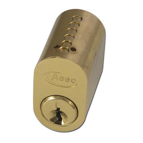 ASEC 6-Pin Scandinavian Oval External Cylinder