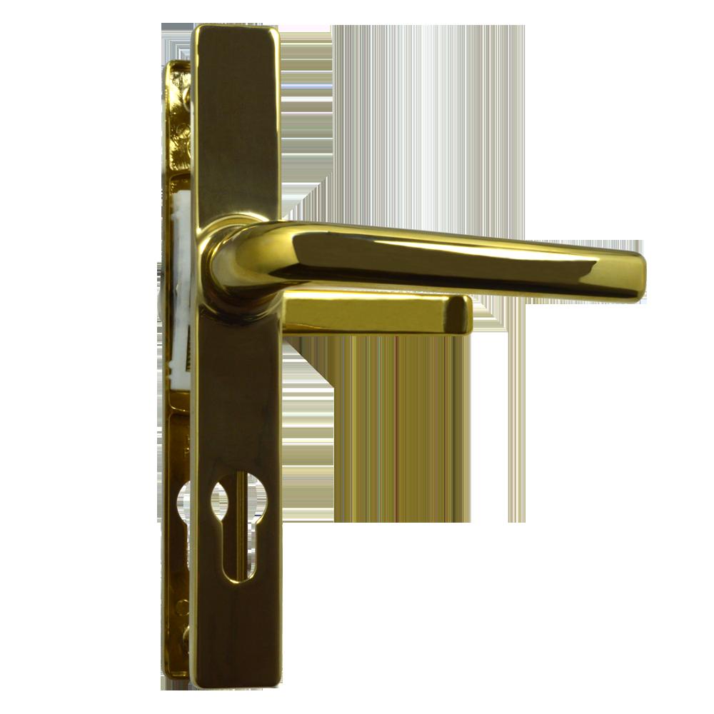 ASEC 70 Lever/Lever Door Furniture To Suit Ferco - 205mm Backplate