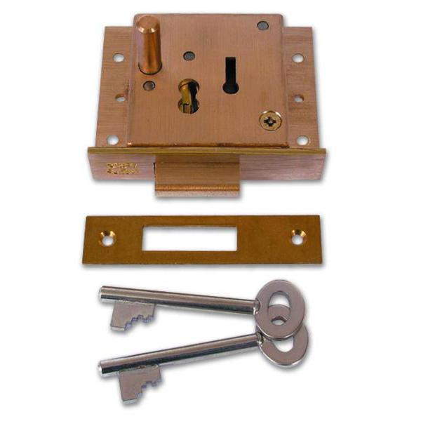 WILLENHALL LOCKS CT5/X35 Push Button Till Lock