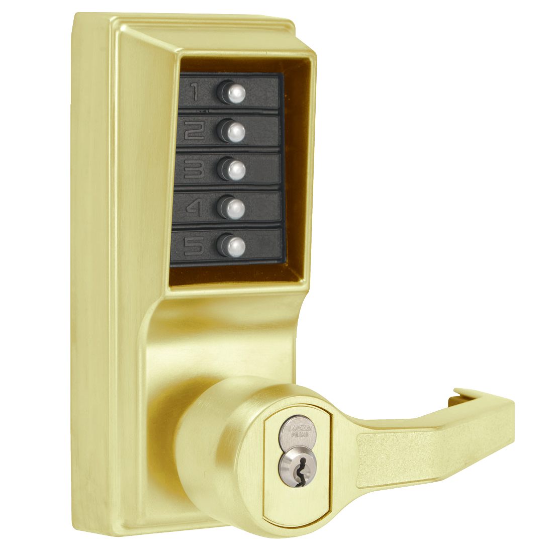 DORMAKABA Simplex L1000 Series L1021B Digital Lock Lever Operated